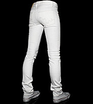 Wesc W Stretch Jeans Eva white