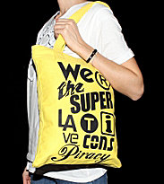 Wesc W Bag Trademarks yellow
