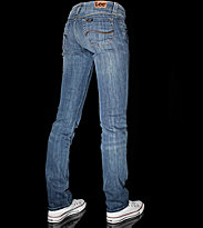 Lee W Jeans Leola Straight Stretch blue/midstream