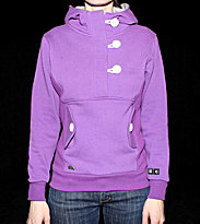Ucon W Hooded Button Omma purple