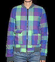 Insight W Flanneljacket It`s Late purple check b