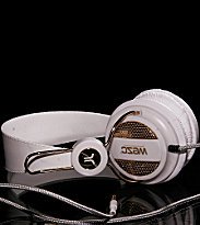 Wesc Headphones Oboe Golden white