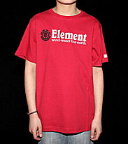 Element Kids T-Shirt Horizontal red