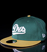 DVS New Era Cap Tally green/yellow