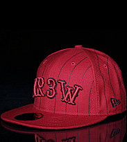 Krew New Era Cap Hoops red
