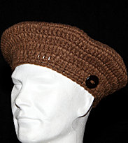 Sessun Beanie Folk Island brown camel