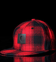 Carhartt Flexfit Cap Matrix red ruby/black