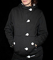 Ucon W Button Hooded Button Omma black