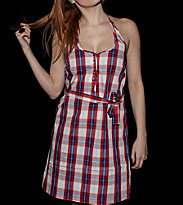 Wesc W Dress Ika red true