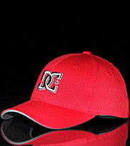DC Kids Cap Flex Fit Jamal red