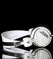 Wesc Headphones Bongo Gradiant Stripe white grey plaster
