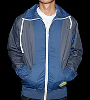 Humor Windbreaker Franz blue urban/ grey melange