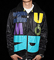 Humor Windbreaker Eric black/multicolors
