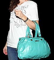 Volcom W Bag Circus Freak aqua purse moss