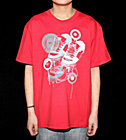 DC Kids T-Shirt Layout red primery red