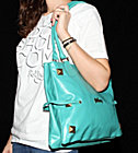 Volcom W Bag Circus Freak Tote aqua purse moss