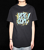 Volcom Kids T-Shirt Against The Wall black