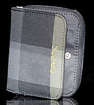 Dakine Wallet Soho grey yellow devin checks