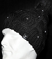Roxy Beanie Shooting Star black true black