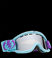 Electric Goggle EG 5 Free Bonus Lens blue purple sea foam 2 tone