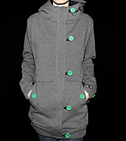 Ucon W Button Hooded Button Omma grey dark grey