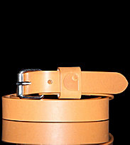 Carhartt Belt Palm brown real used leather