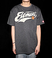 Element Kids T-Shirt Hardball black heather
