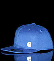 Carhartt Flexfit Cap Port blue orbit/white