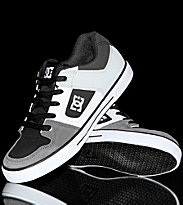 DC Kids Shoes Pure black grey armor white