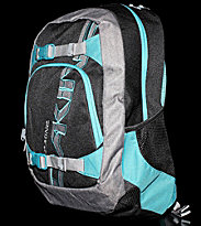 Dakine Backpack Explorer black aqua grey teal block