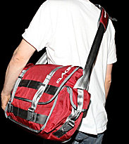 Dakine Bag Porter red crimson
