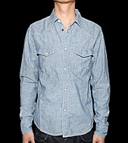 Revolution Shirt Carton blue stripe