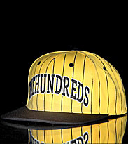 The Hundreds Snap Cap Pins yellow/black