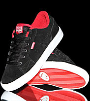 Circa Kids Shoes Cero black red risk