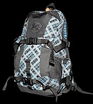 Zimtstern Backpack Walker Skate 11 black/blue/grey finecaro