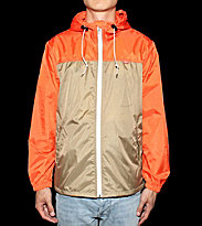 Obey Windbreaker Standard orange/khaki beige