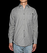 RVCA Shirt Wesley Stripes grey
