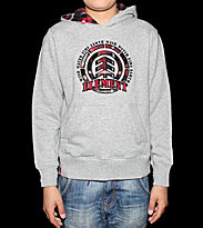 Element Kids Hooded Bremerton grey heather