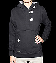 Ucon W Hooded Button Omma black/white buttons
