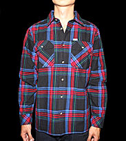Carhartt Shirt Pullford blue red black green check magnetic