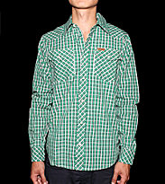 Carhartt Shirt Bryden Western green shamrock checks