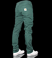 Carhartt Slam Pant Tatum green conifer rinsed