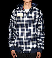 Altamont Jacket Herman Signiture blue navy/white