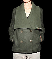 Insight W Jacket Brick Lane green military