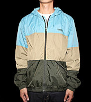 Wesc Windbreaker Magnus blue adriatic/green