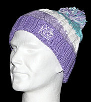Dakine Kids Beanie Chance purple stripe