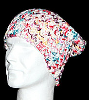 Roxy Beanie Lets Ride white/multicolores