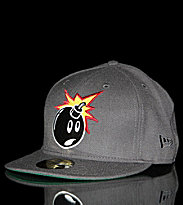 The Hundreds New Era Cap Adam grey charcoal