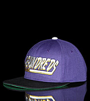 The Hundreds Snap Cap Swish purple