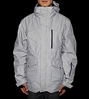 Zimtstern Snowjacket Sargas blue hickory/white stripes